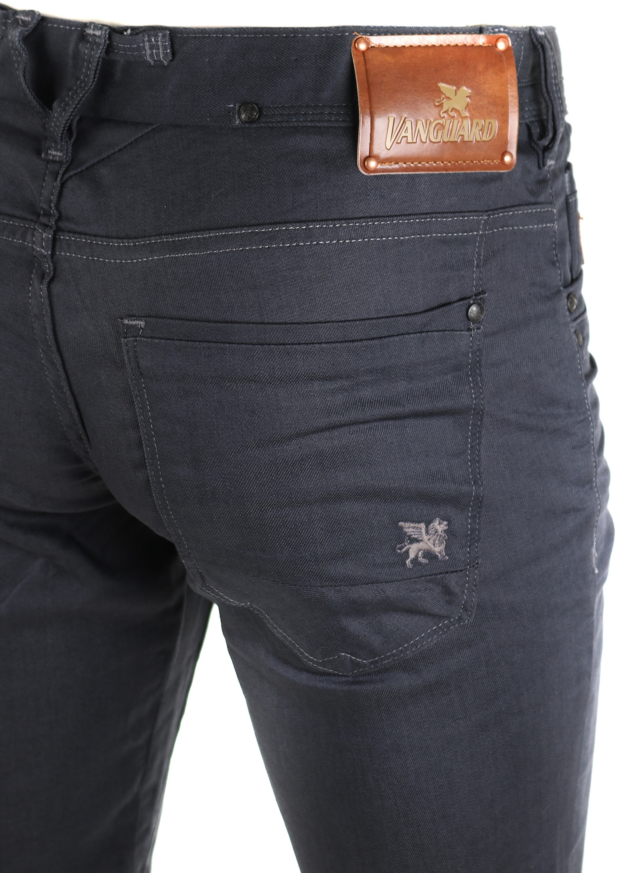 Vanguard V8 Racer Jeans Dark Grey foto 3