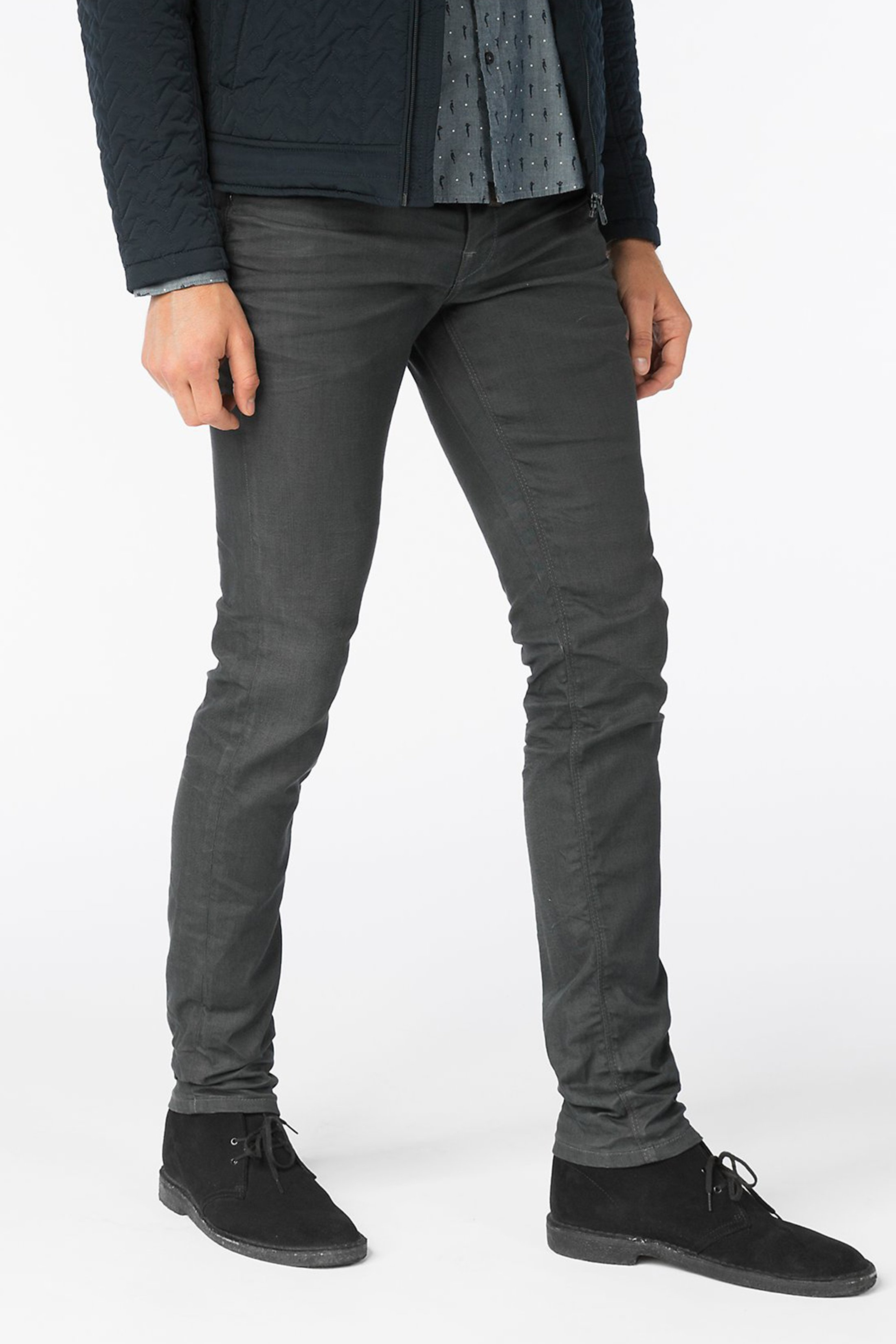 Vanguard V8 Racer Jeans Dark Grey foto 5