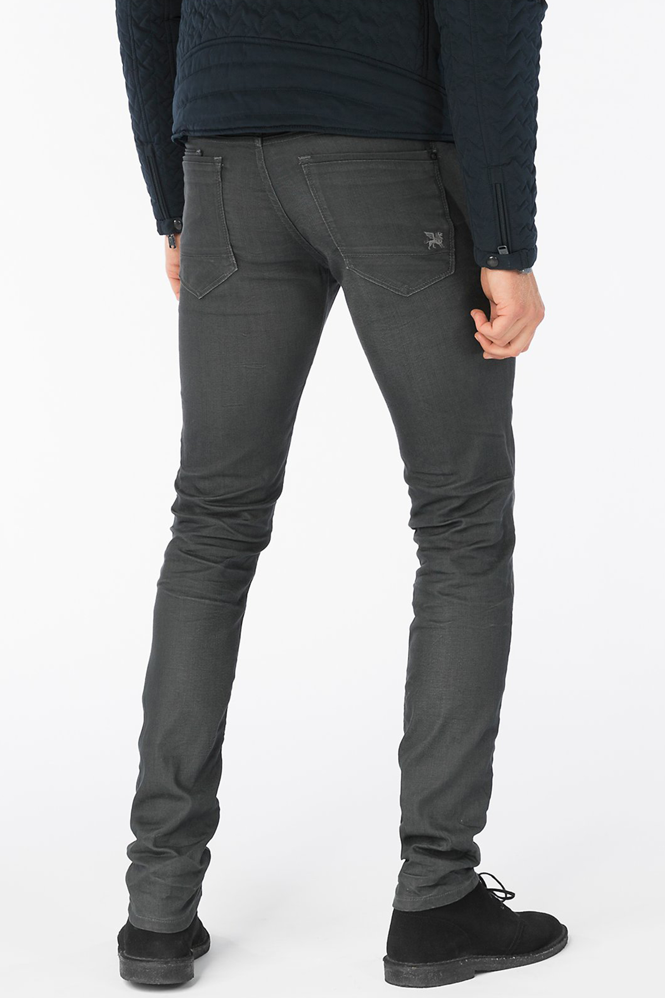 Vanguard V8 Racer Jeans Dark Grey foto 6