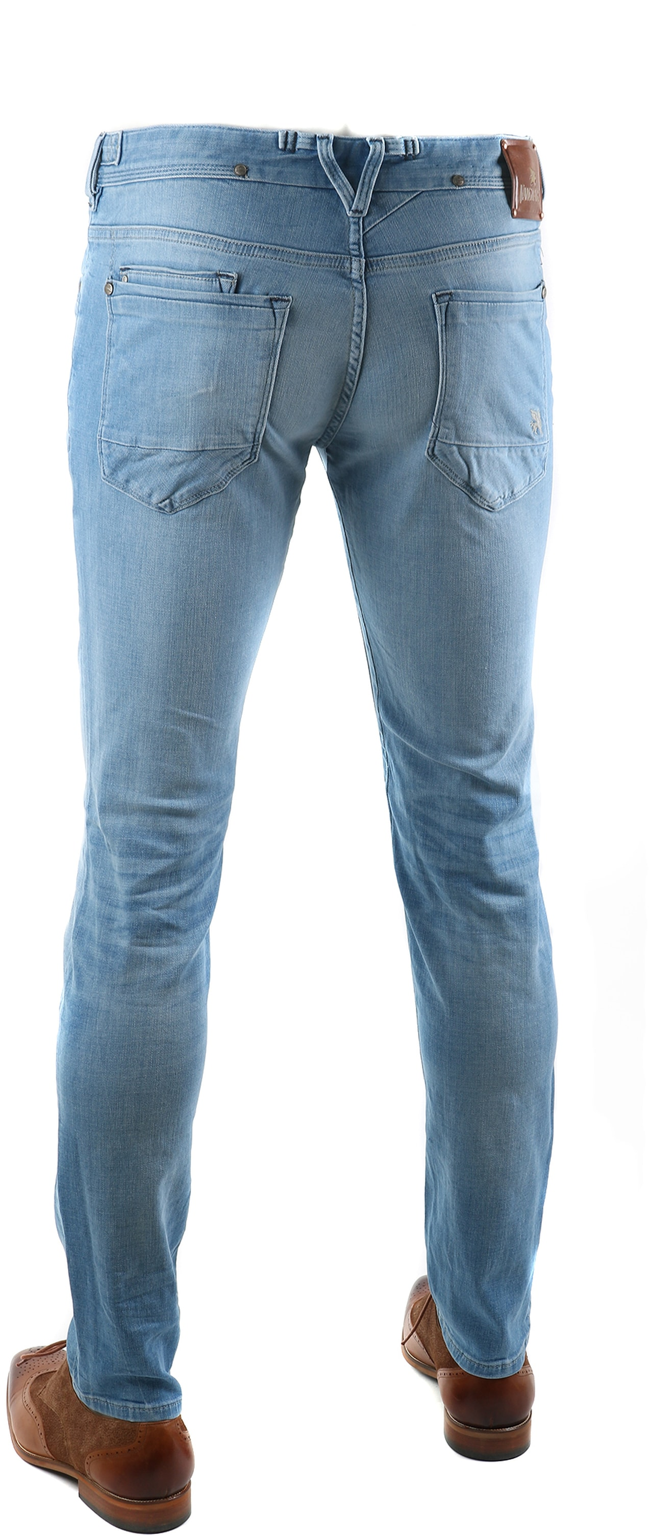 Vanguard V8 Racer Jeans Electric Blue foto 1