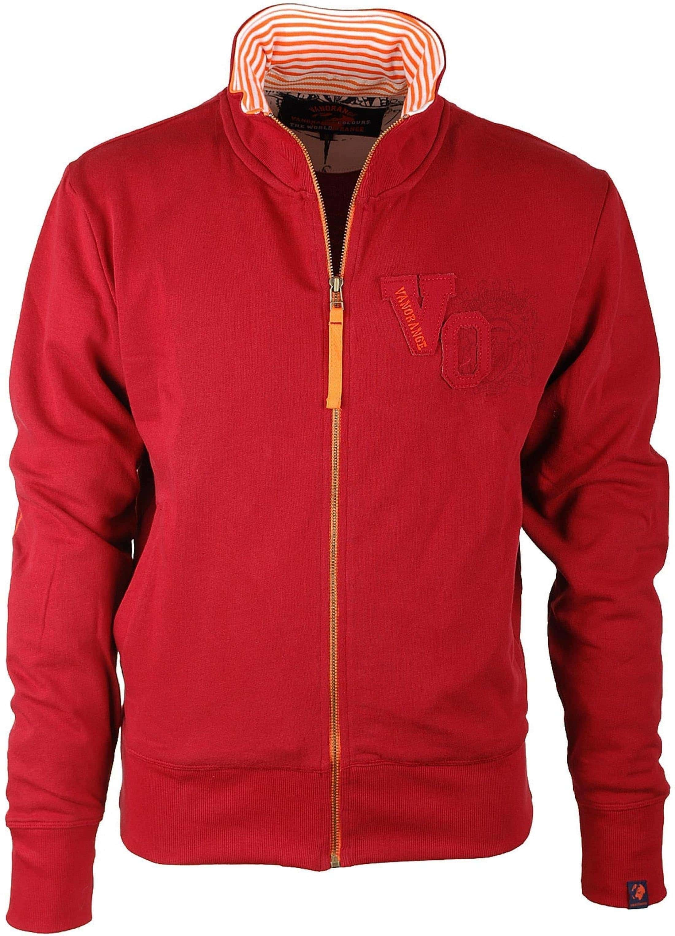 VanOrange Cardigan VO Dark Red 01