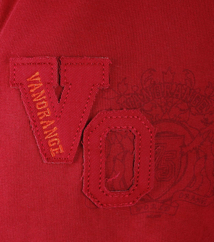 VanOrange Weste VO Dunkel Rot 01