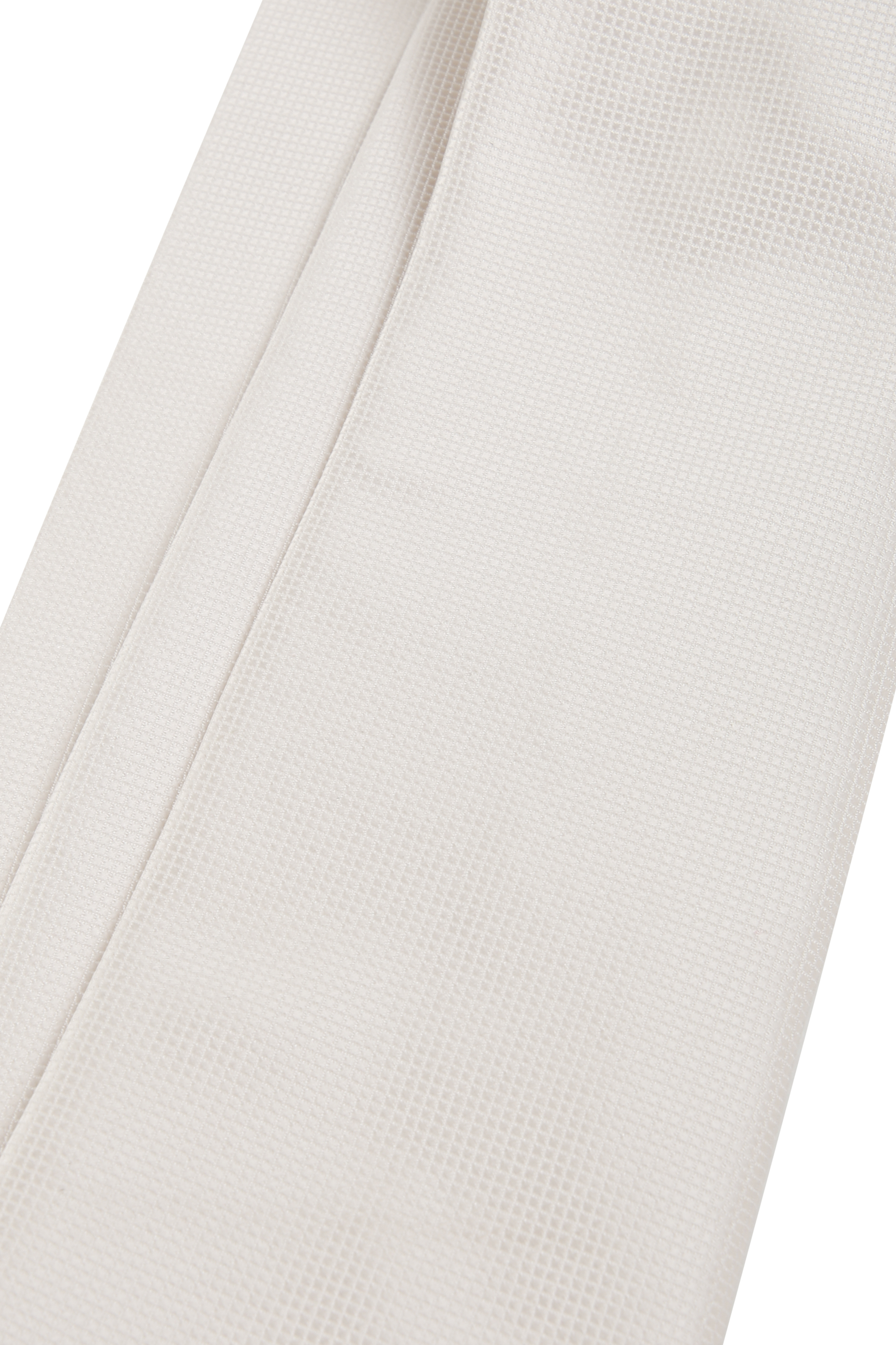 Wedding Tie + Pocketsquare Off-white foto 3