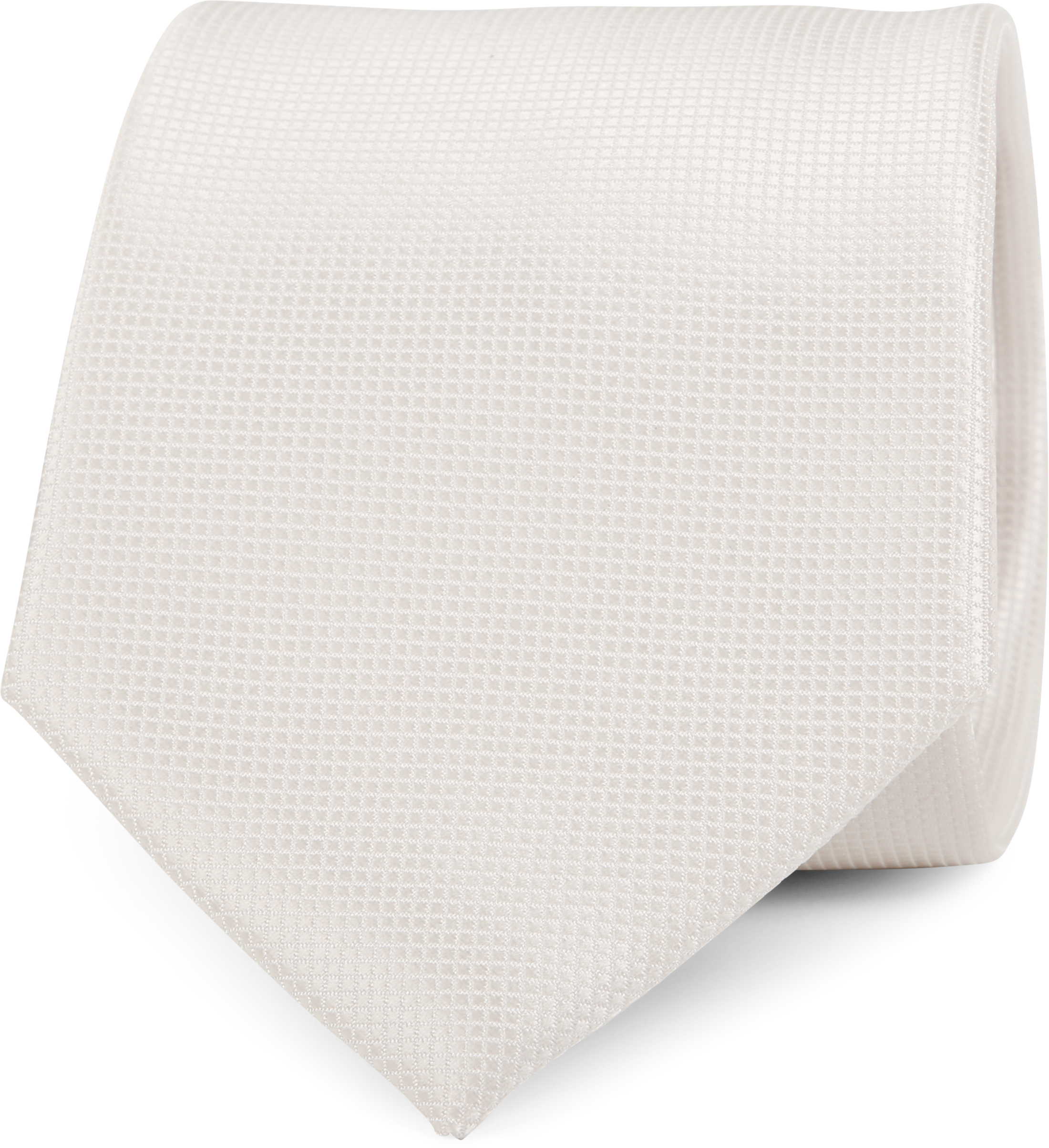 Wedding Tie + Pocketsquare Off-white foto 1