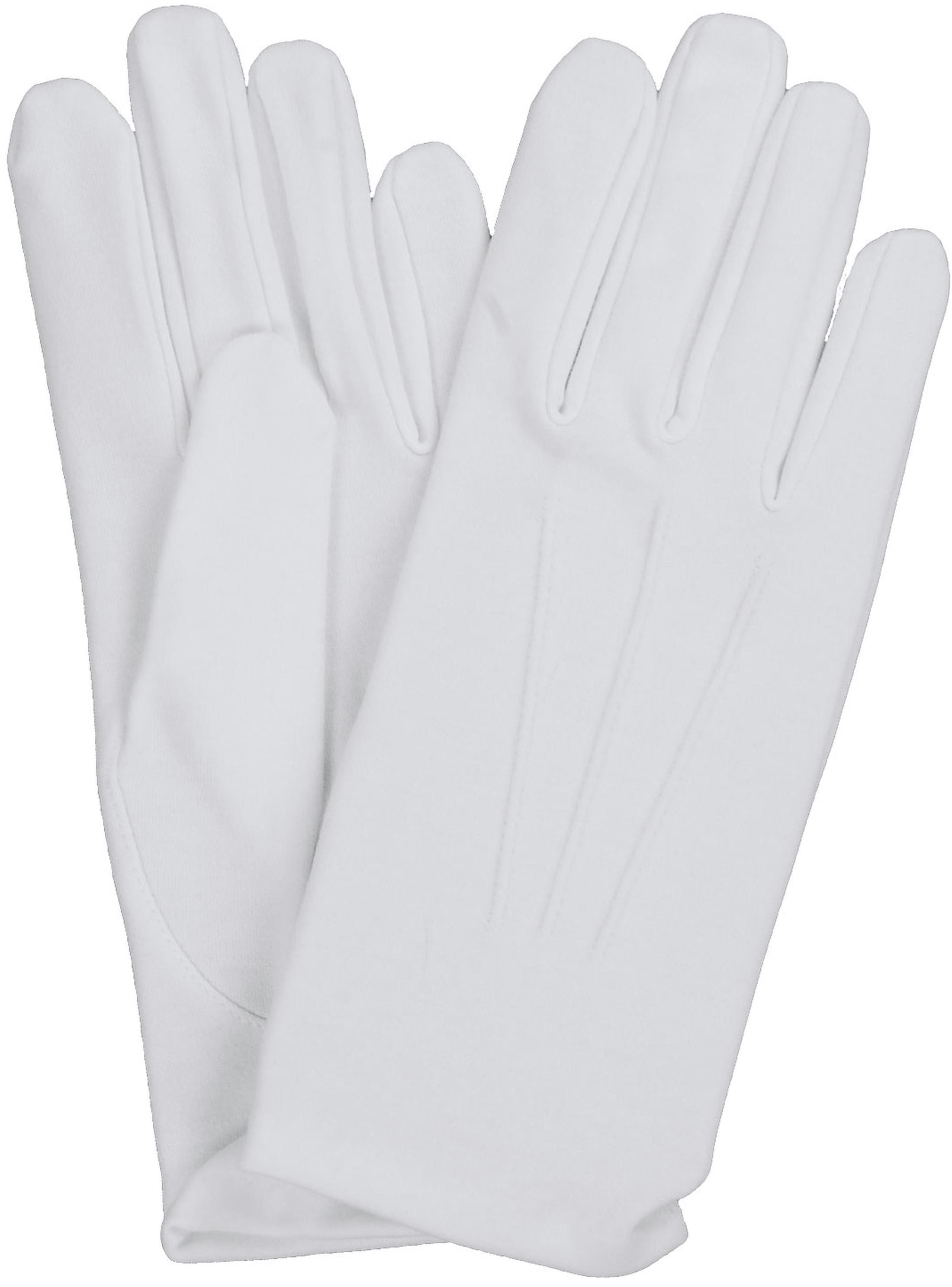 Weiße Handschuhe Foto 1