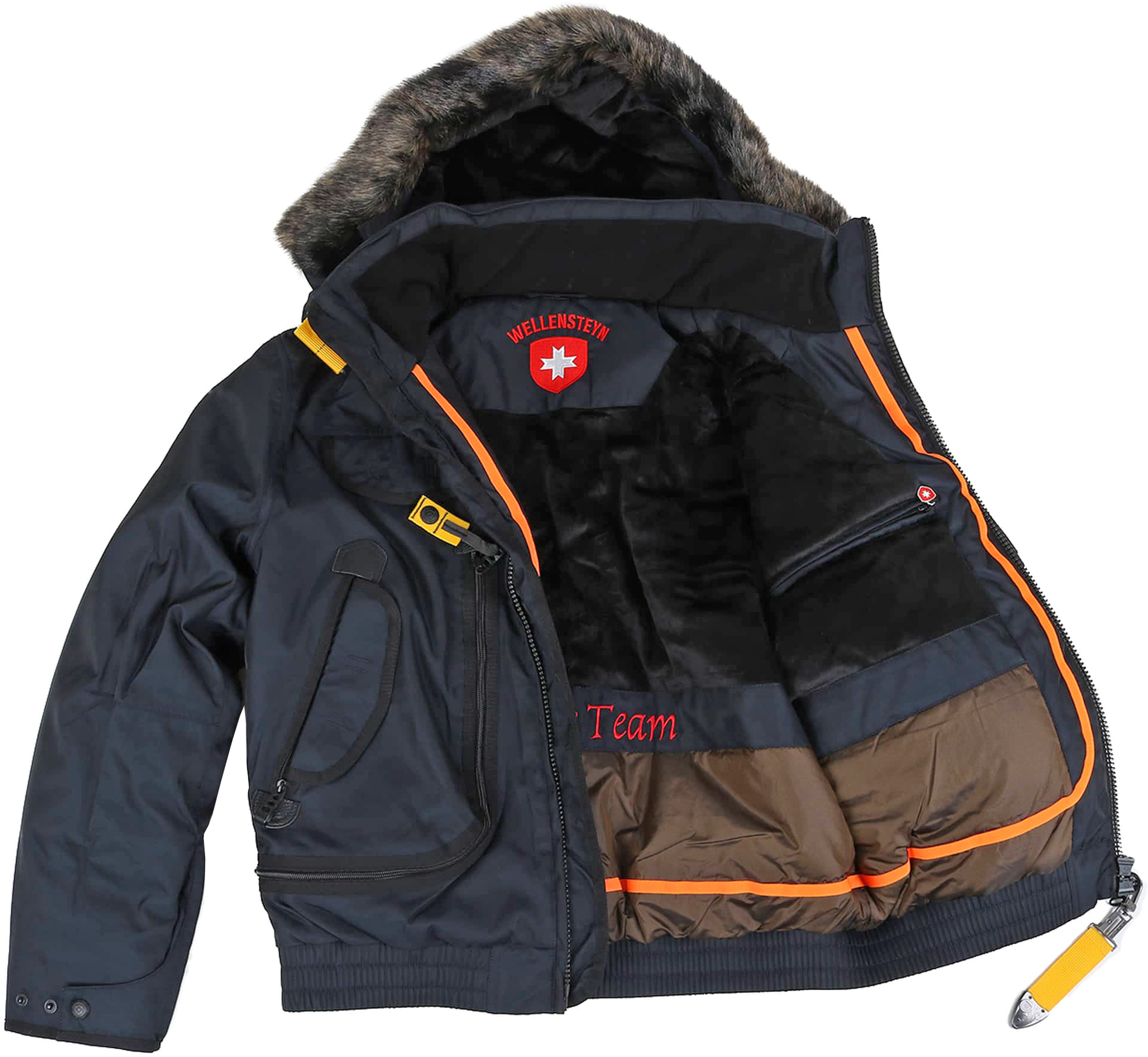 Wellensteyn Rescue Jacket Dunkelblau foto 6