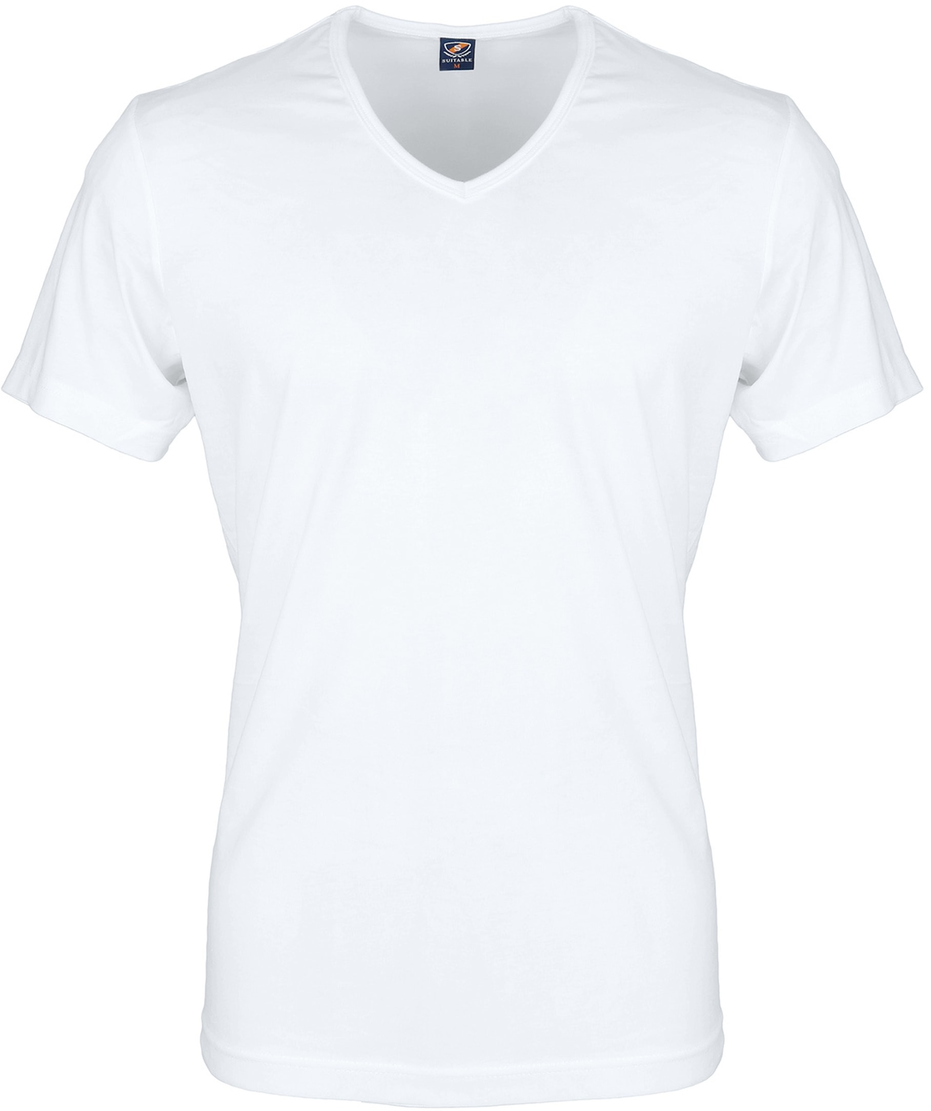 White T-shirt 6-Pack V-Neck foto 1