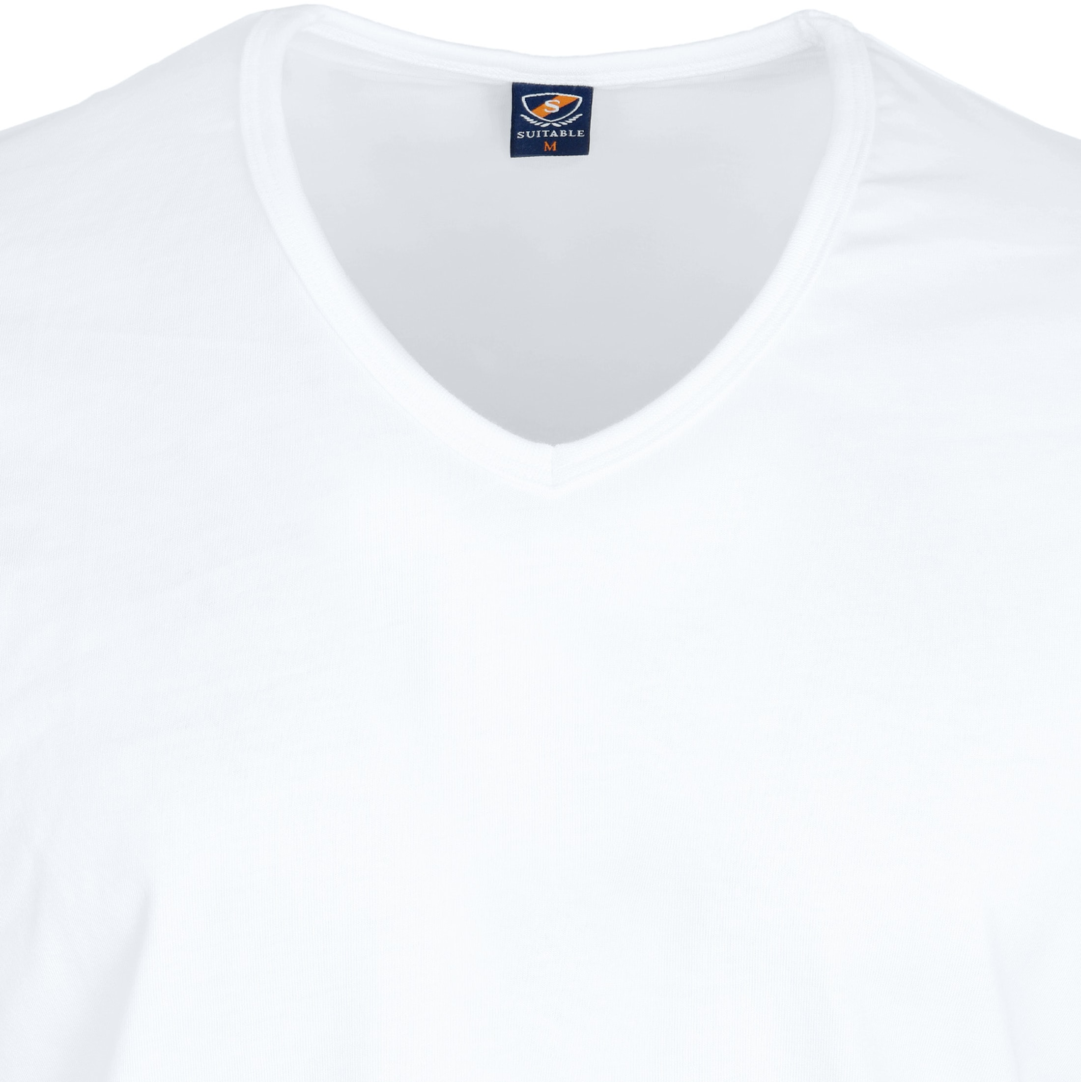 White T-shirt 6-Pack V-Neck foto 2