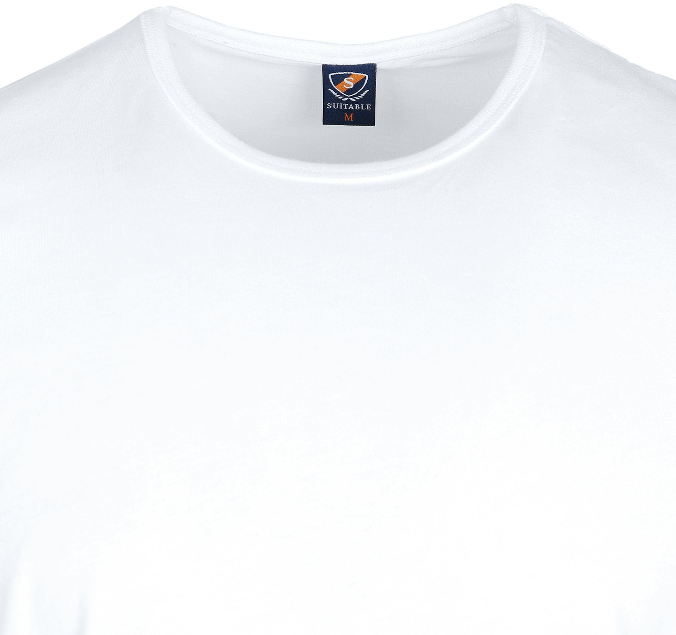 White T-shirt O-Neck 6-Pack foto 3