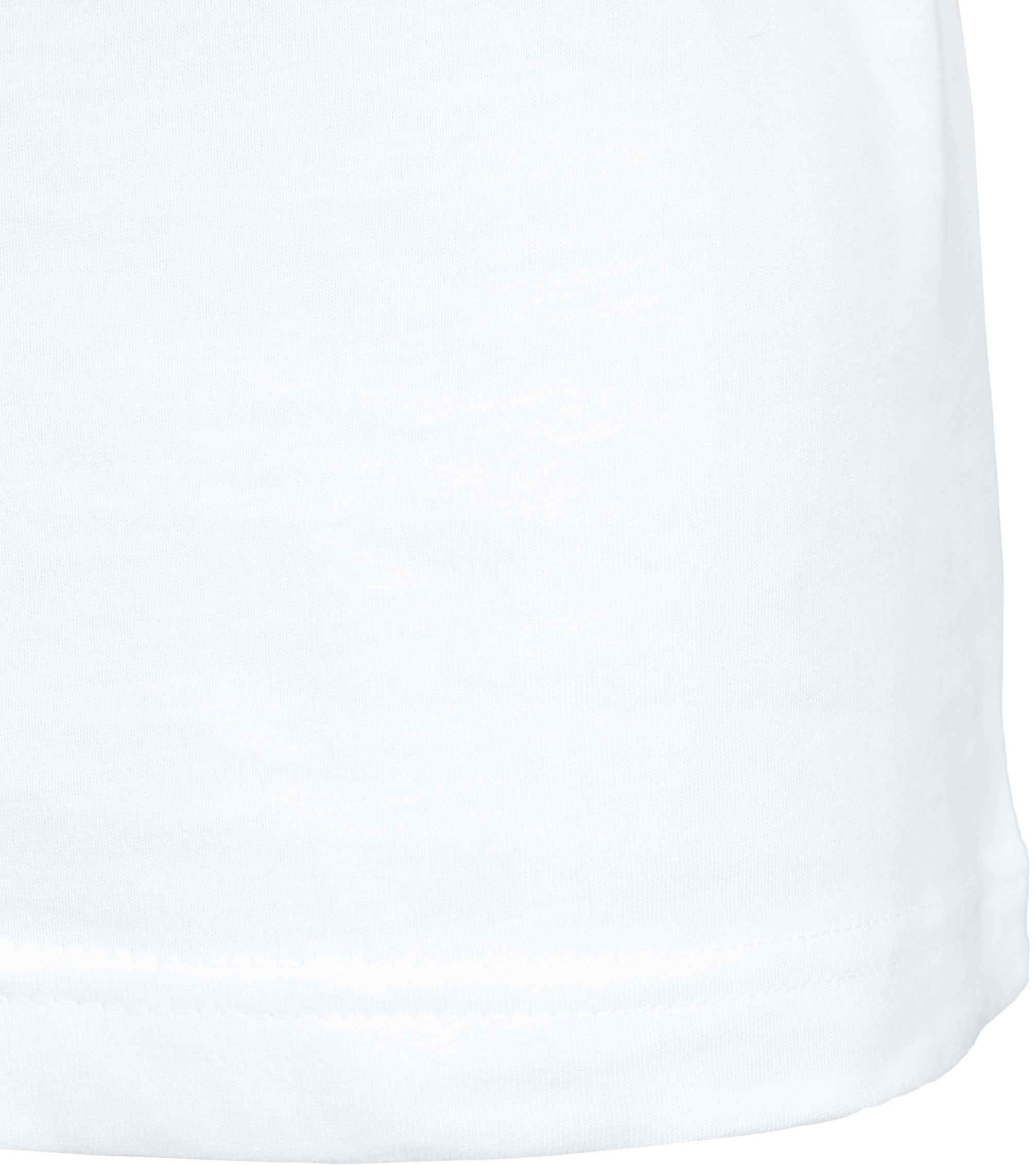 White T-shirt O-Neck 6-Pack foto 5