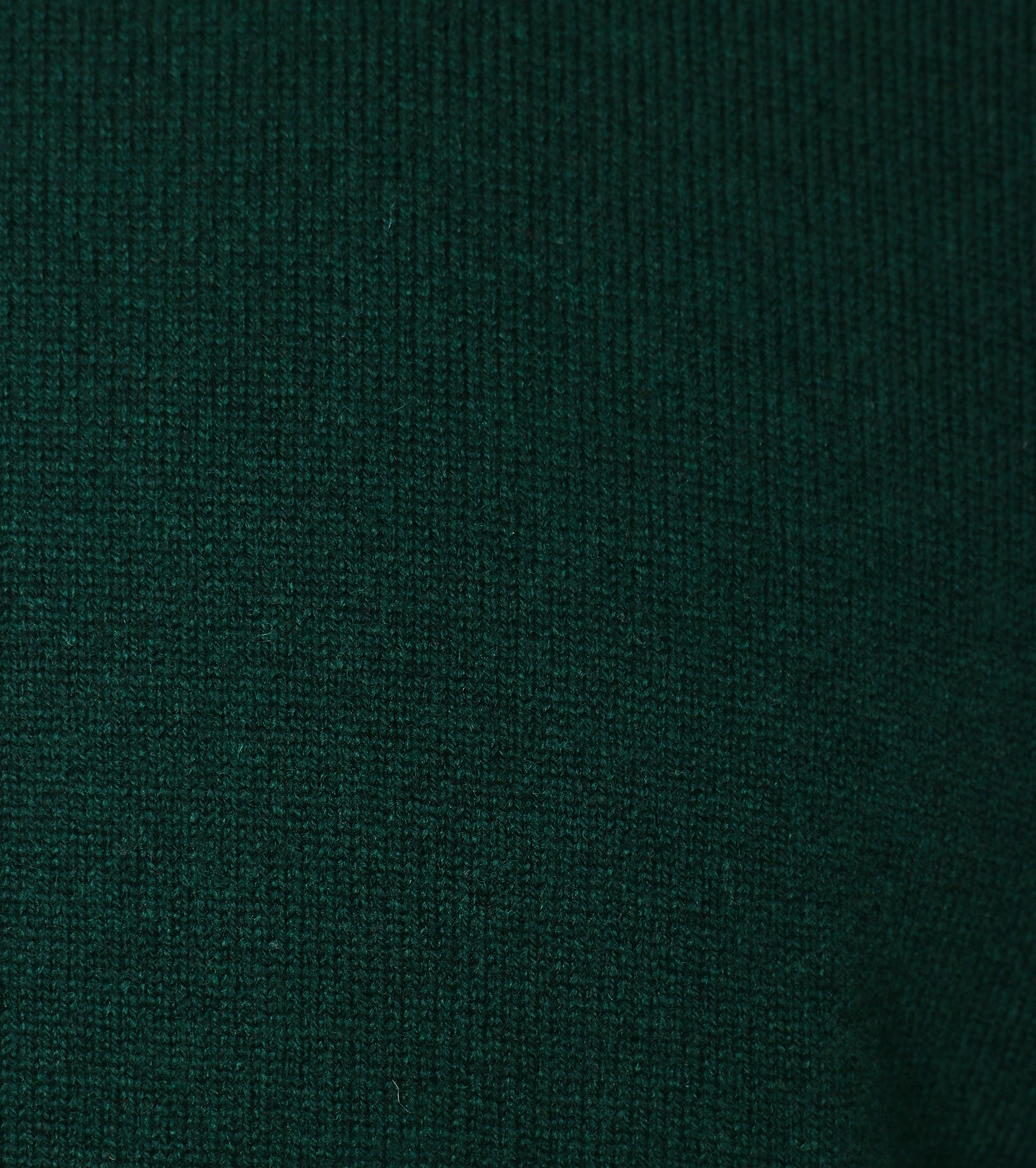 William Lockie Lambswool Groen foto 2