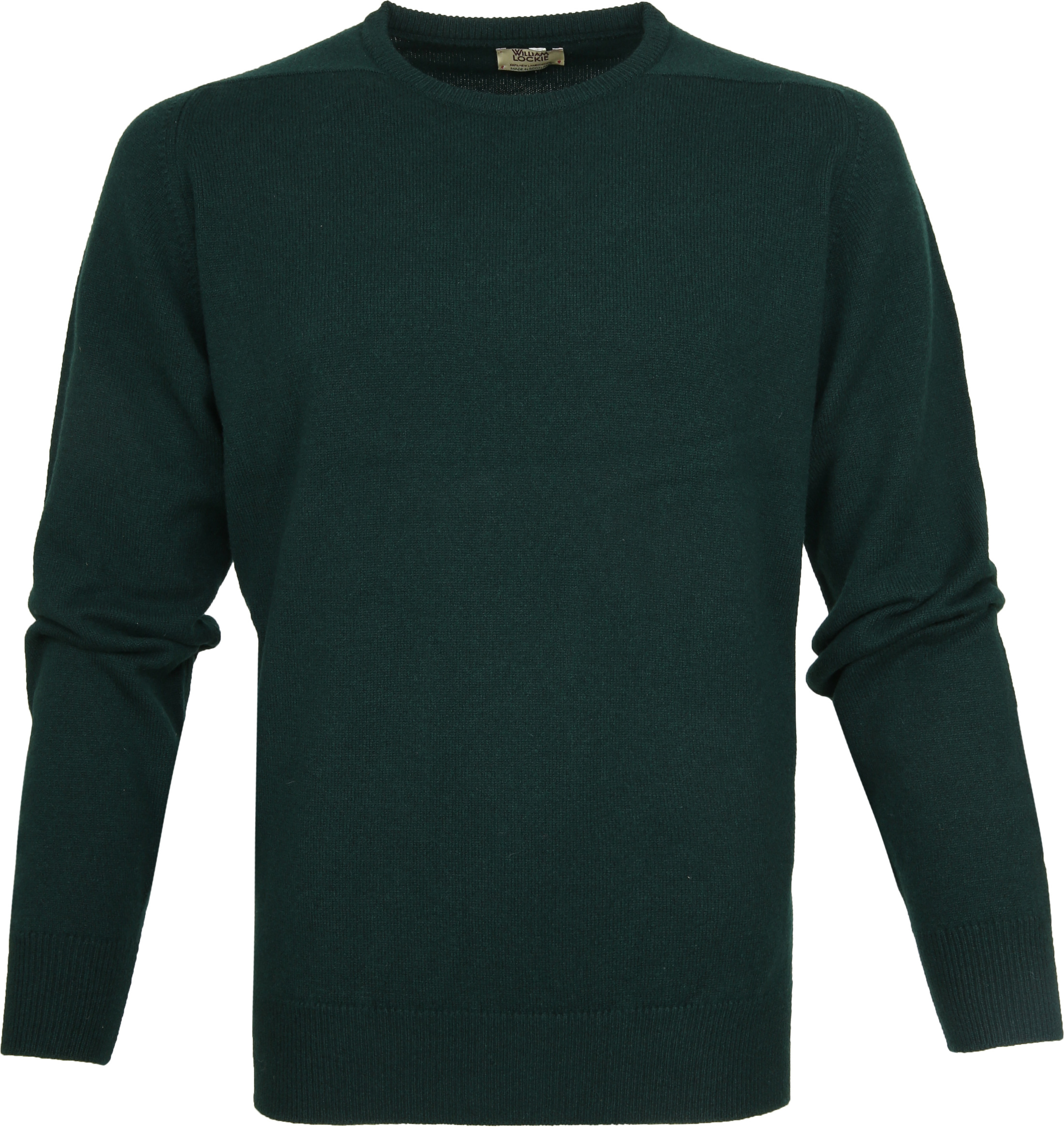 William Lockie Lambswool Groen foto 0