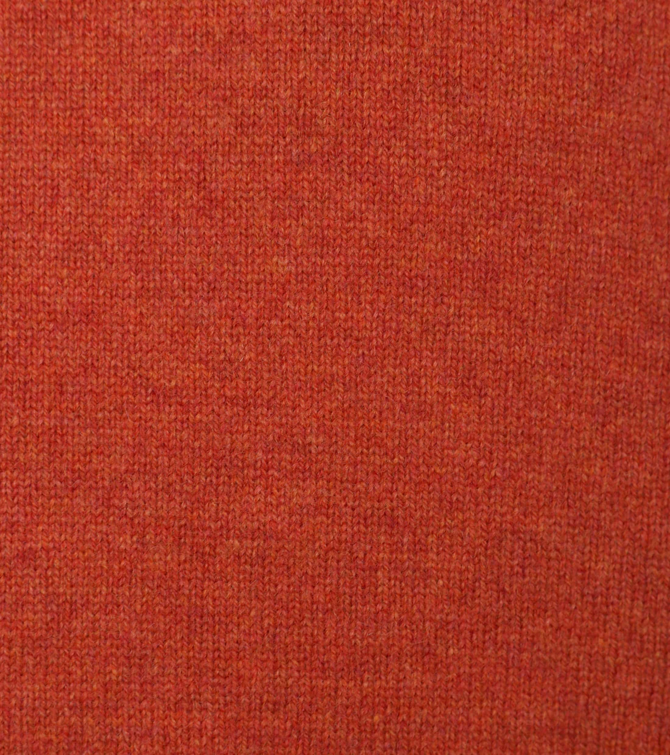 William Lockie Lambswool Oranje foto 2