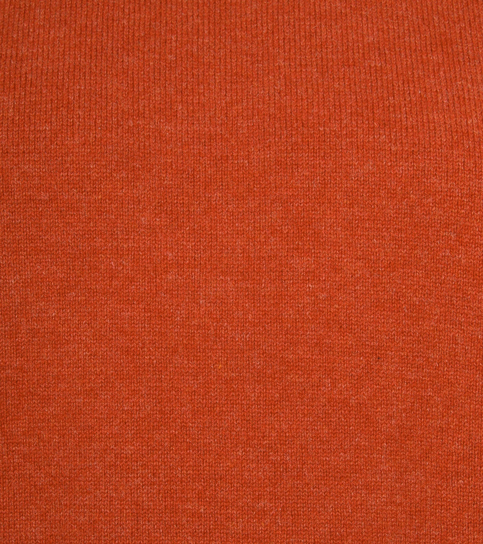 William Lockie Lambswool Oranje foto 1