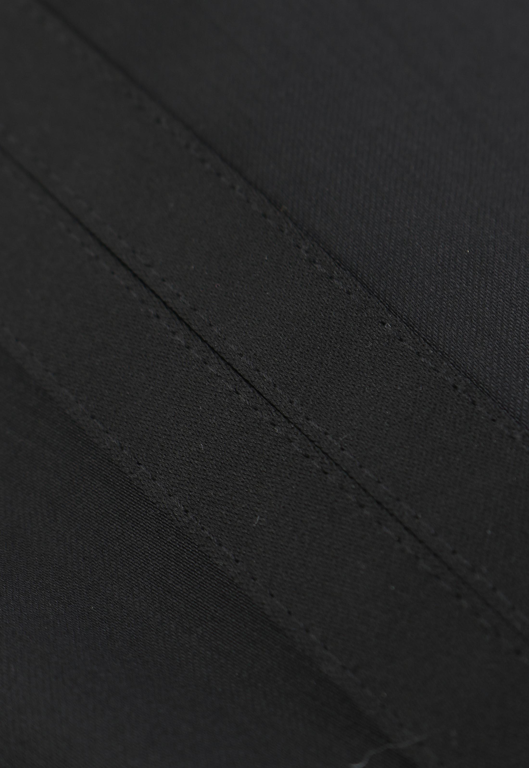 Wilvorst White Tie Pants 100% Wool foto 2