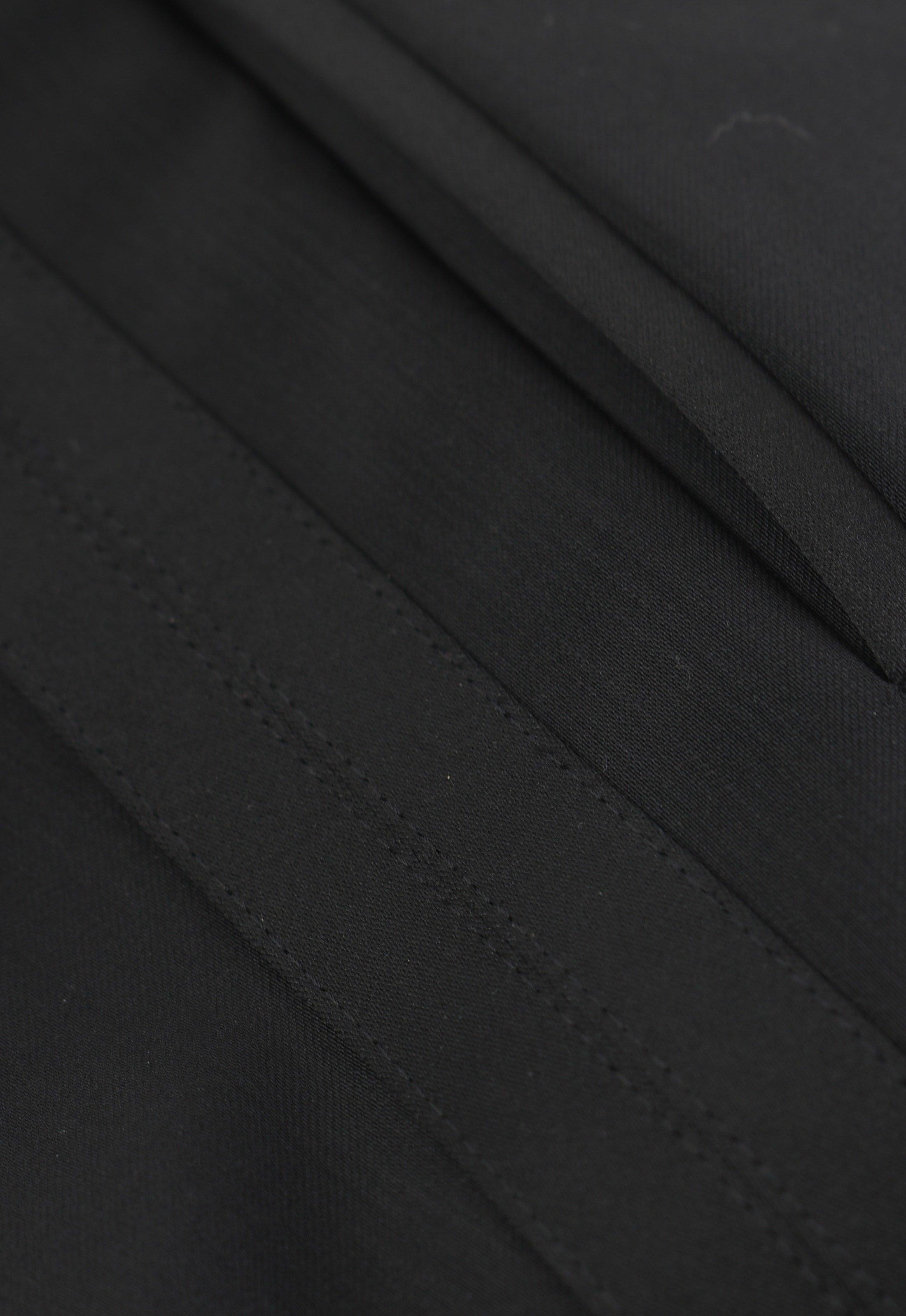 Wilvorst White Tie Pants 100% Wool foto 4