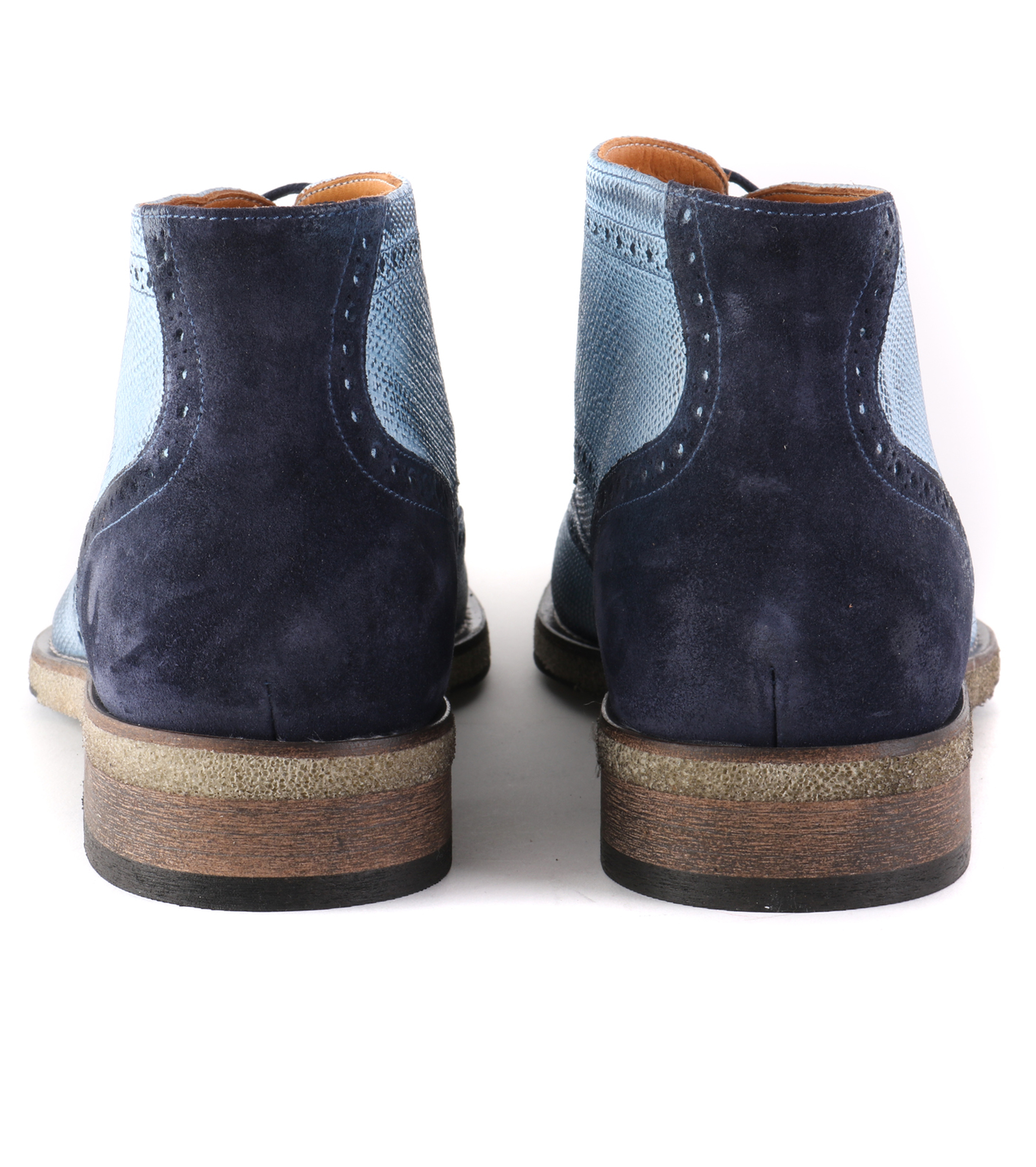 Wingtip STBL Boot Jeans Blauw foto 2