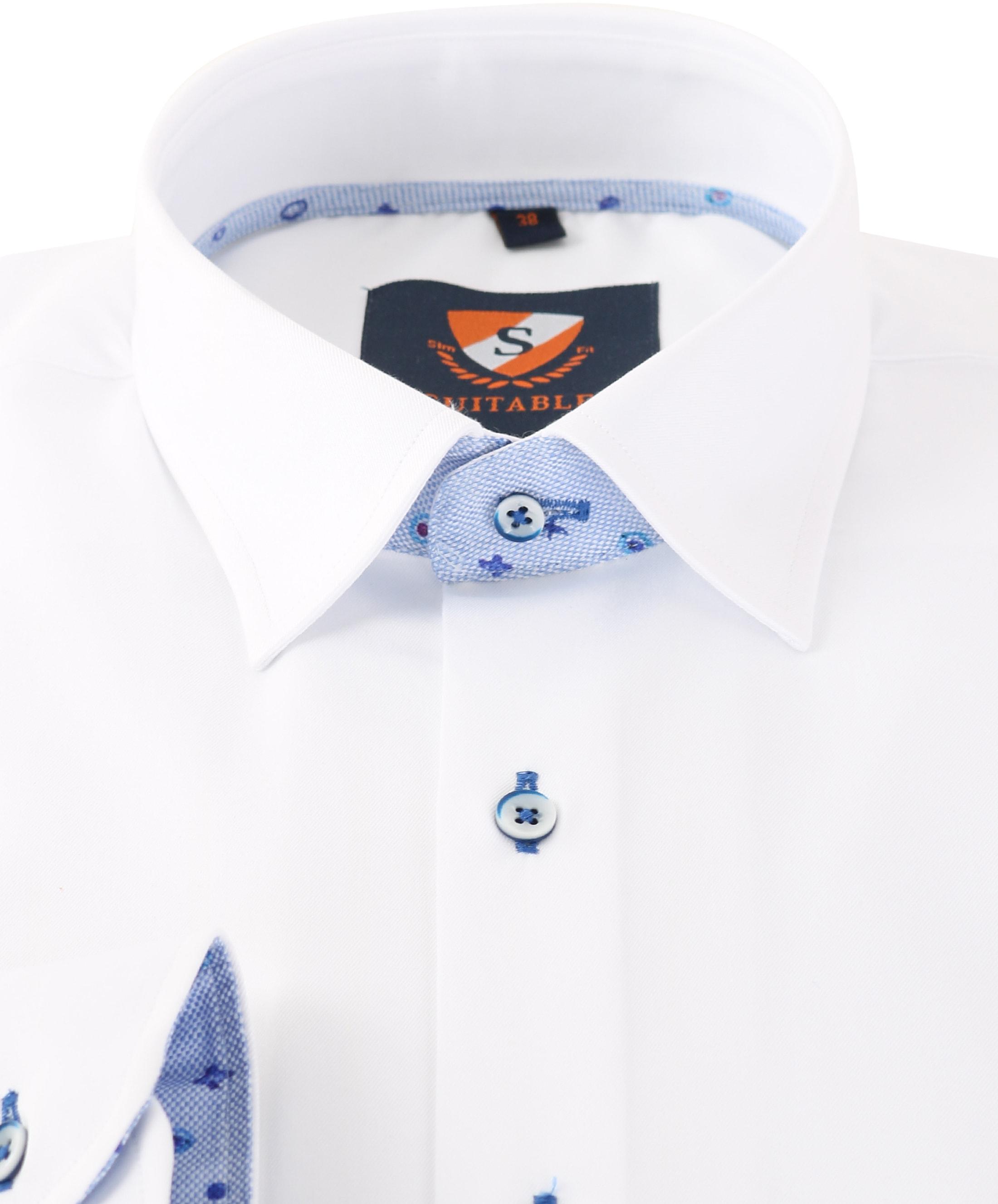 Wit Overhemd 154-1 foto 1