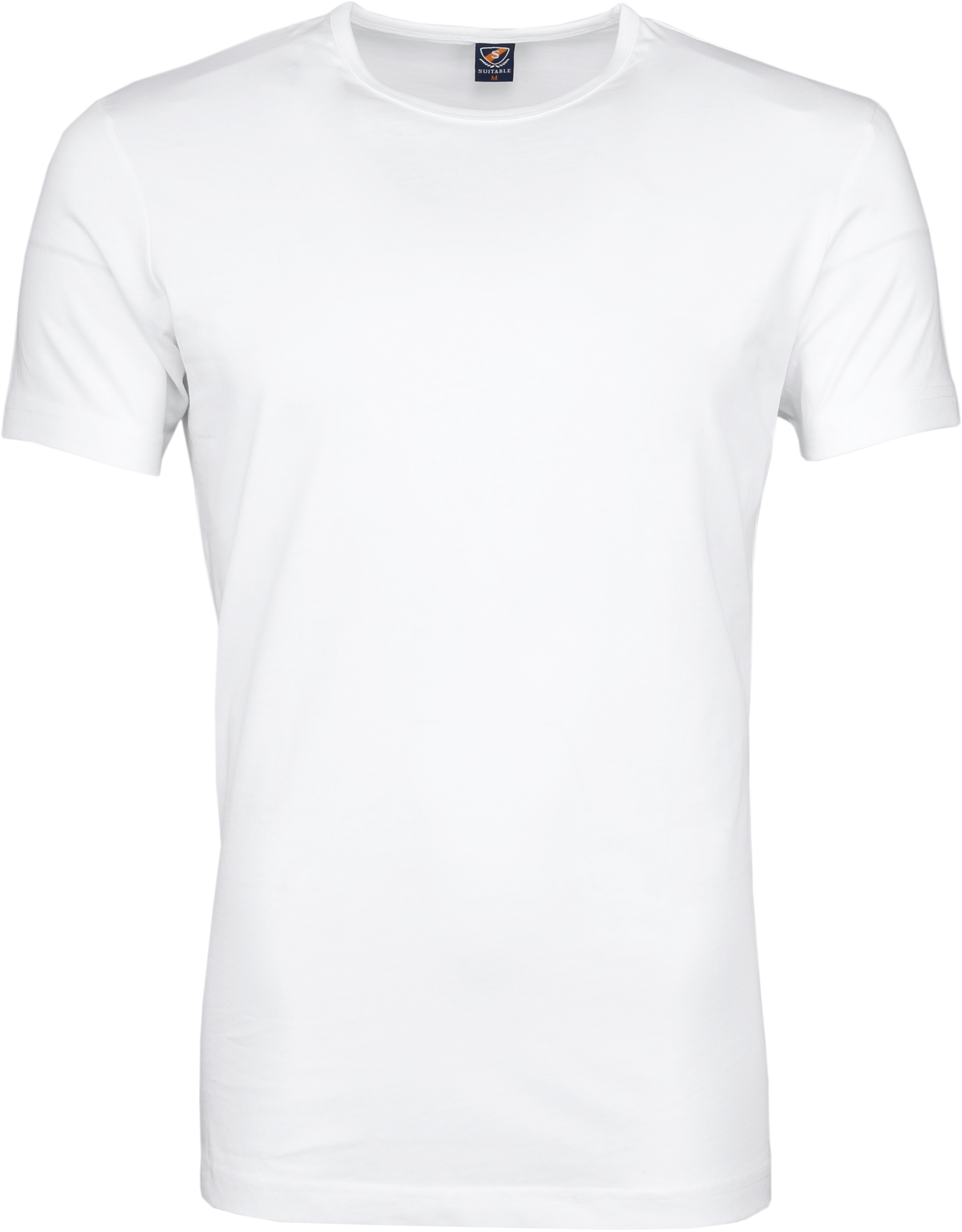 Wit T-Shirts 6Pack O-neck foto 2