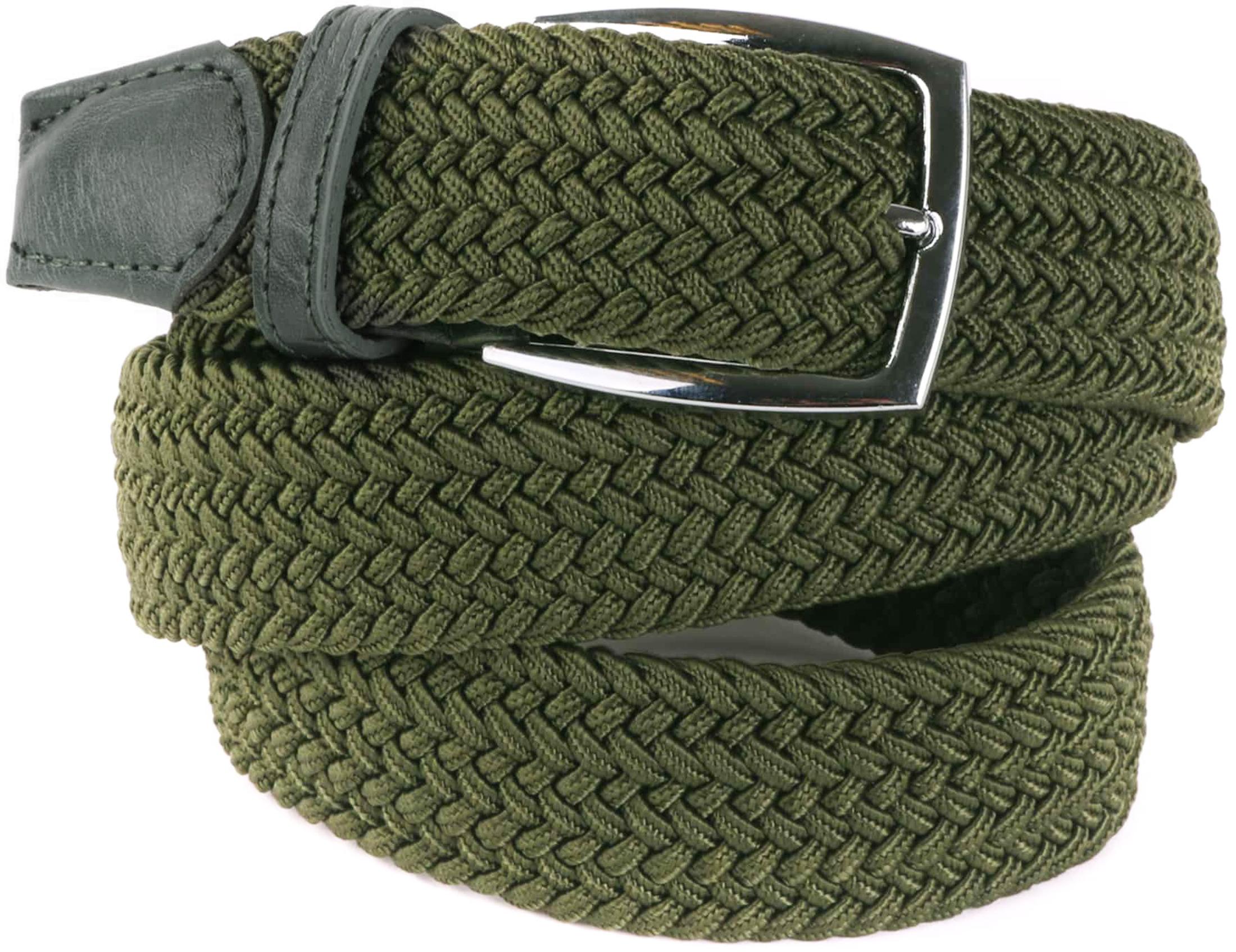 Woven Belt Army Green foto 0